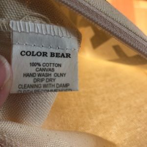 color bear Bags - Lot of 6 girl Boss canvas make up cosmetic bag